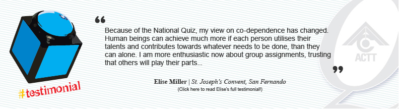 4th National Quiz Testimonials
