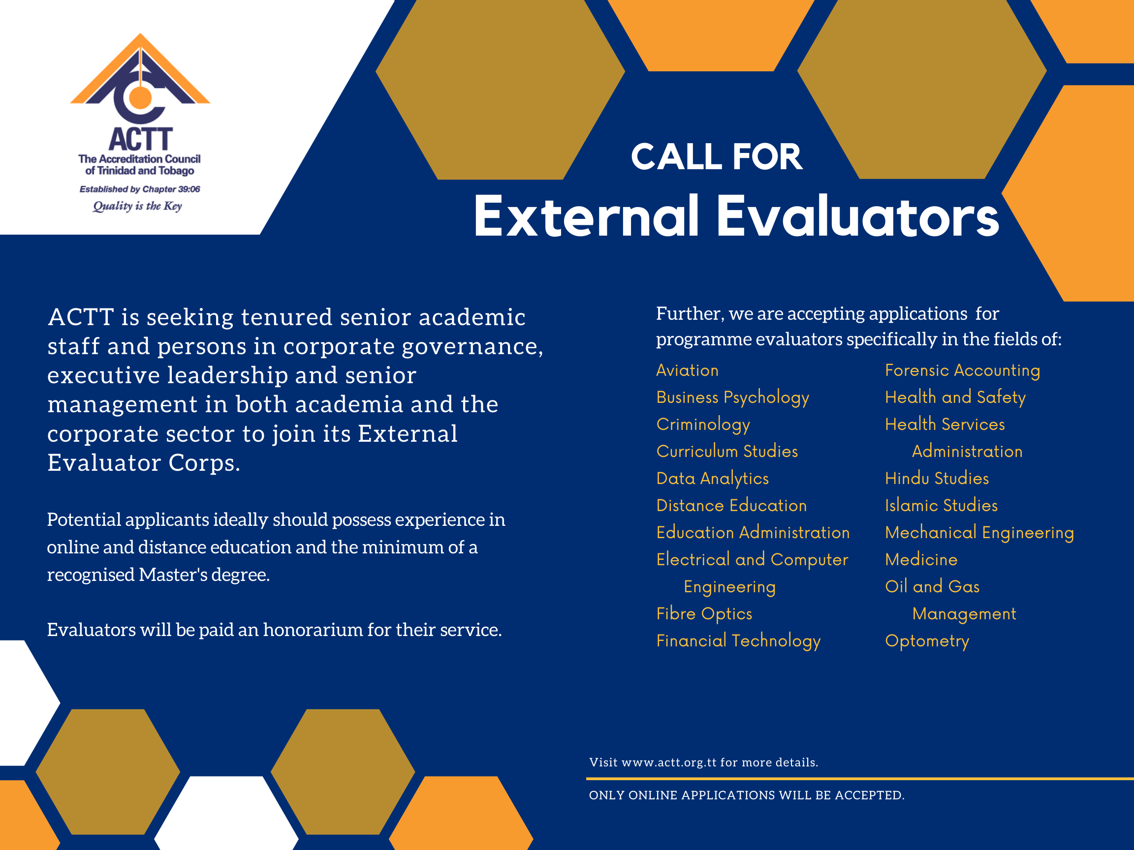 Call for External Evaluators2
